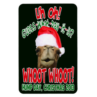 Hump Day Camel Christmas 2013 Flexi Fridge Magnet
