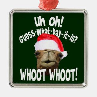 Hump Day Camel Christmas Christmas Tree Ornament