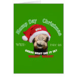 Hump Day Camel Christmas Greeting Card