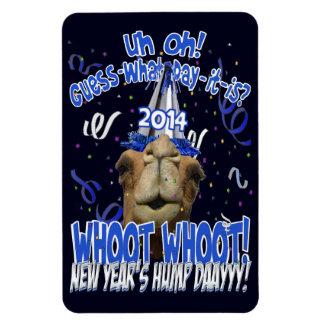 Hump Day Camel New Year's 2014 Keepsake Magnet