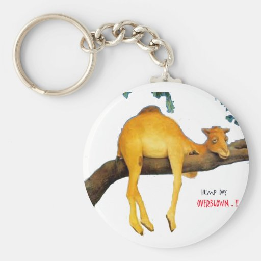 Hump Day Camel .. Overblown Key Chain