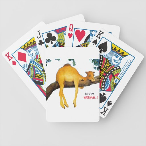 Hump Day Camel .. Overblown Poker Cards