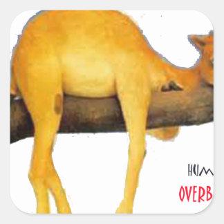 Hump Day Camel .. Overblown Sticker