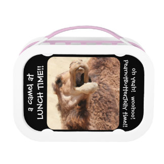 Hump Day Camel; Peanut Butter Jelly Time! woohoo Lunch Box