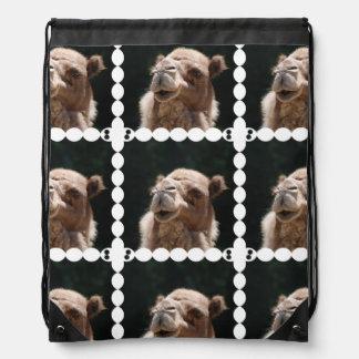 Hump Day Camel Drawstring Backpack