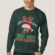 Hump Day Camel Santa Christmas Sweatshirt