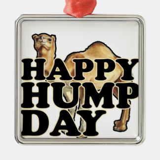 Hump Day Camel T Shirts M.png Christmas Tree Ornaments