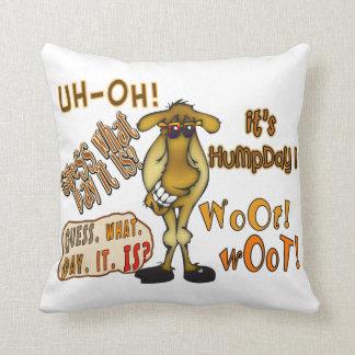 Hump Day Camel Throw Pillow