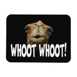 Hump Day Camel Whoot Whoot Flexi Magnet