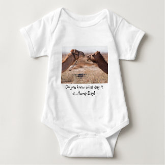 Hump Day Camels Baby Bodysuit