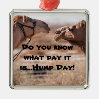 Hump Day Camels Christmas Tree Ornaments