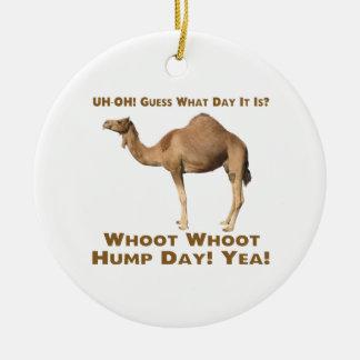 Hump Day Ceramic Ornament