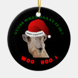 Hump Day Christmas Ornament CAmel