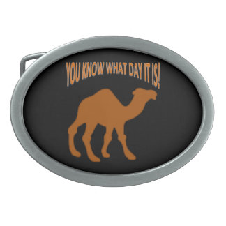 HUMP DAY Hump Day camel Belt Buckle