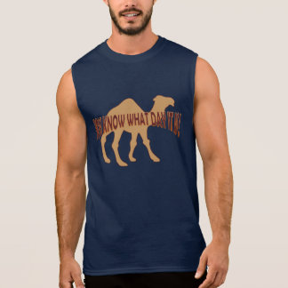 Hump day Humpday CAMEL (WHAT DAY IT IS ) Sleeveless Shirt