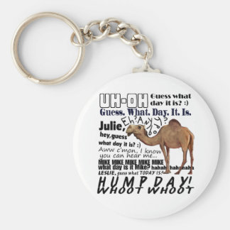 hump day! keychain