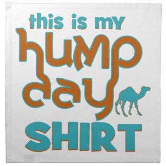 Hump Day Printed Napkin