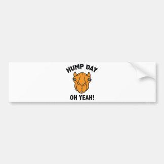 Hump Day Oh Yeah! Bumper Sticker