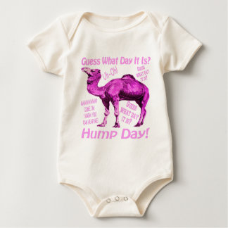 Hump Day Pink Camel Just For Her Baby Bodysuit