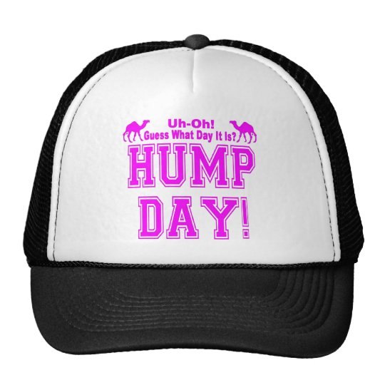 HUMP DAY PINK for Her Trucker Hat