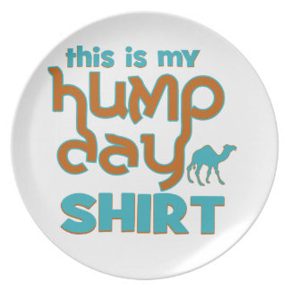 Hump Day Party Plates
