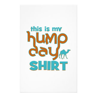 Hump Day Stationery Paper