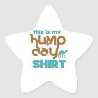 Hump Day Star Stickers