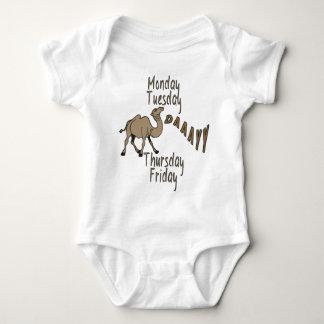 Hump Day Week Days Baby Bodysuit