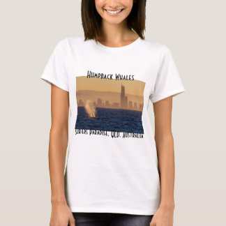 Humpack Whales Surfers Paradise Queensland T-Shirt