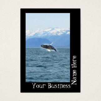Humpback Acrobat Business Card