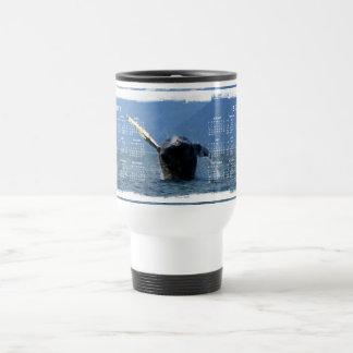 Humpback Barrel Roll; 2012 Calendar Travel Mug