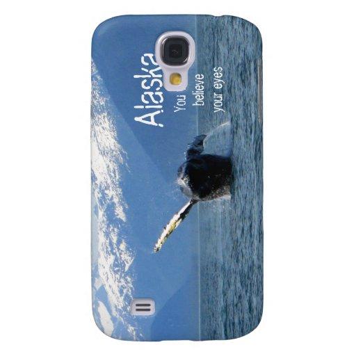 Humpback Barrel Roll; Alaska Souvenir Samsung Galaxy S4 Cover