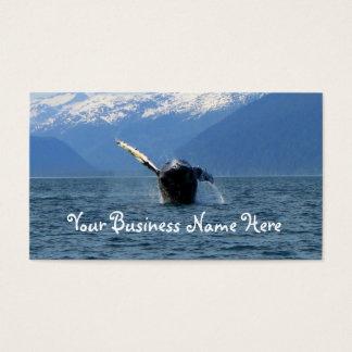 Humpback Barrel Roll Business Card