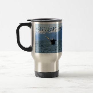 Humpback Barrel Roll; Customizable Travel Mug