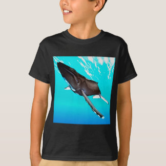 Humpback Diving from the Surface T-Shirt