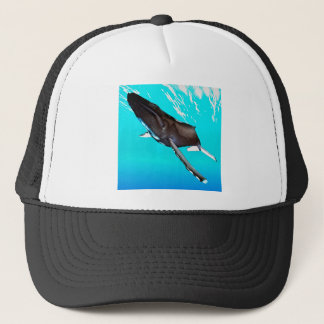 Humpback Diving from the Surface Trucker Hat
