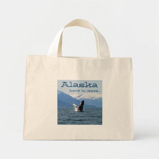Humpback en la superficie; Recuerdo de Alaska Bolsa De Mano