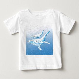 Humpback Family Baby T-Shirt