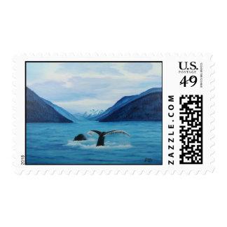 Humpback Haven Postage
