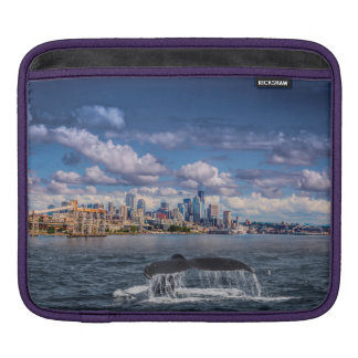 Humpback in Seattle Sound I-Pad Sleeve