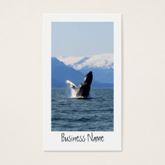Humpback on the Surface Business Card