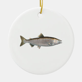 Humpback Salmon (ocean phase) Christmas Tree Ornaments