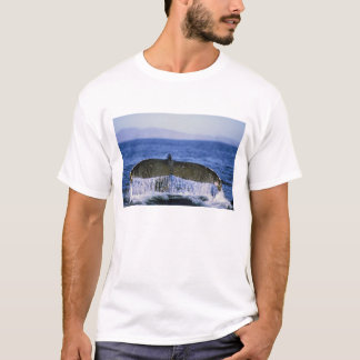 Humpback tail. T-Shirt