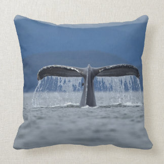 Humpback Whale 2 Throw Pillow