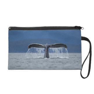 Humpback Whale 2 Wristlet Purse