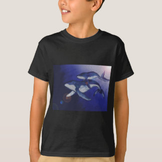 Humpback whale and baby T-Shirt