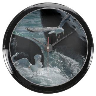 Humpback Whale Fish Tank Clocks