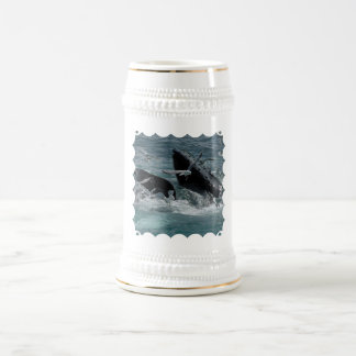Humpback Whale Beer Stein Coffee Mugs