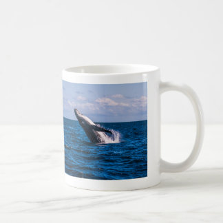 Humpback Whale Breach Coffee Mug