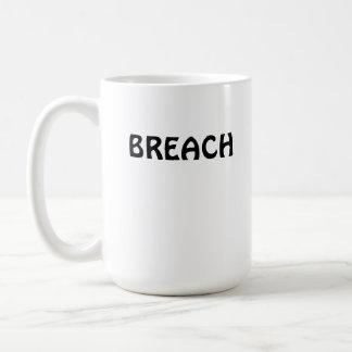 Humpback Whale Breach Classic White Coffee Mug